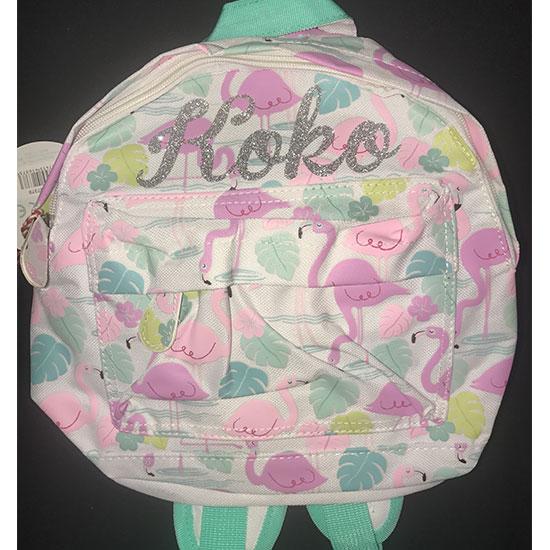 Flamingo Toddler Bag