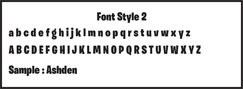 Font Style 2