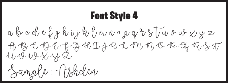 Font Style 4