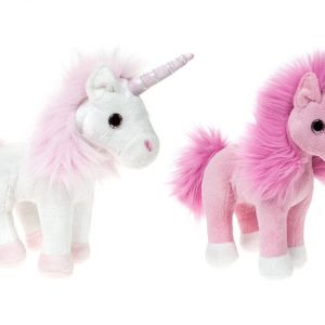 Plush Glitter Standing Unicorn