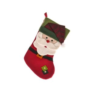 Padded Santa Stocking