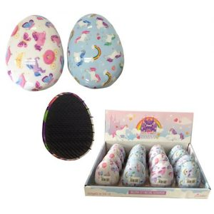 Unicorn Egg Hair Brush