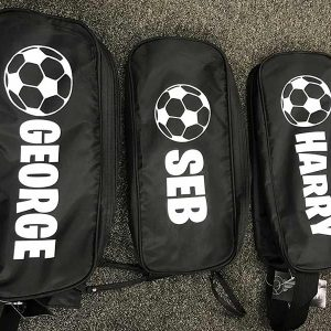Personalised Football boot bags